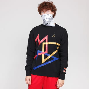 Jordan M J Sport DNA HBR Fleece PO Crew