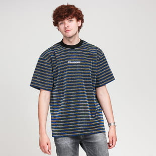 PLEASURES Disturbed Glitter Stripe Shirt