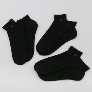 Polo Ralph Lauren 3er-Pack Quarter Socken