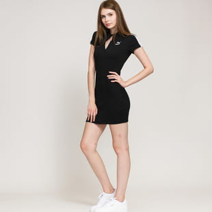 Puma Classics Ribbed Tight SS Dress