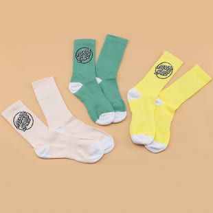 Santa Cruz Pop Dot Socks 3er-Pack