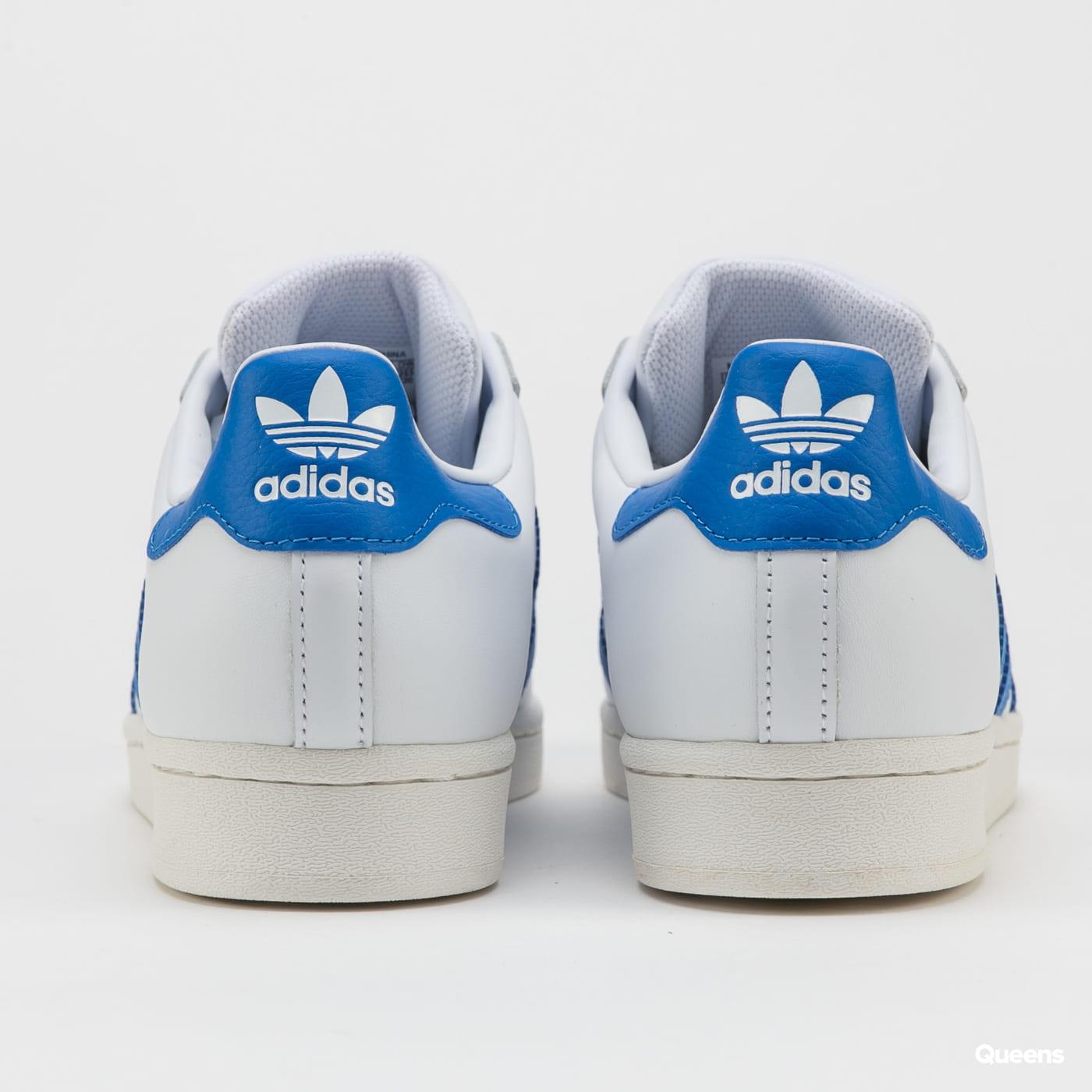 adidas Originals Superstar ftwwht / blubir / owhite