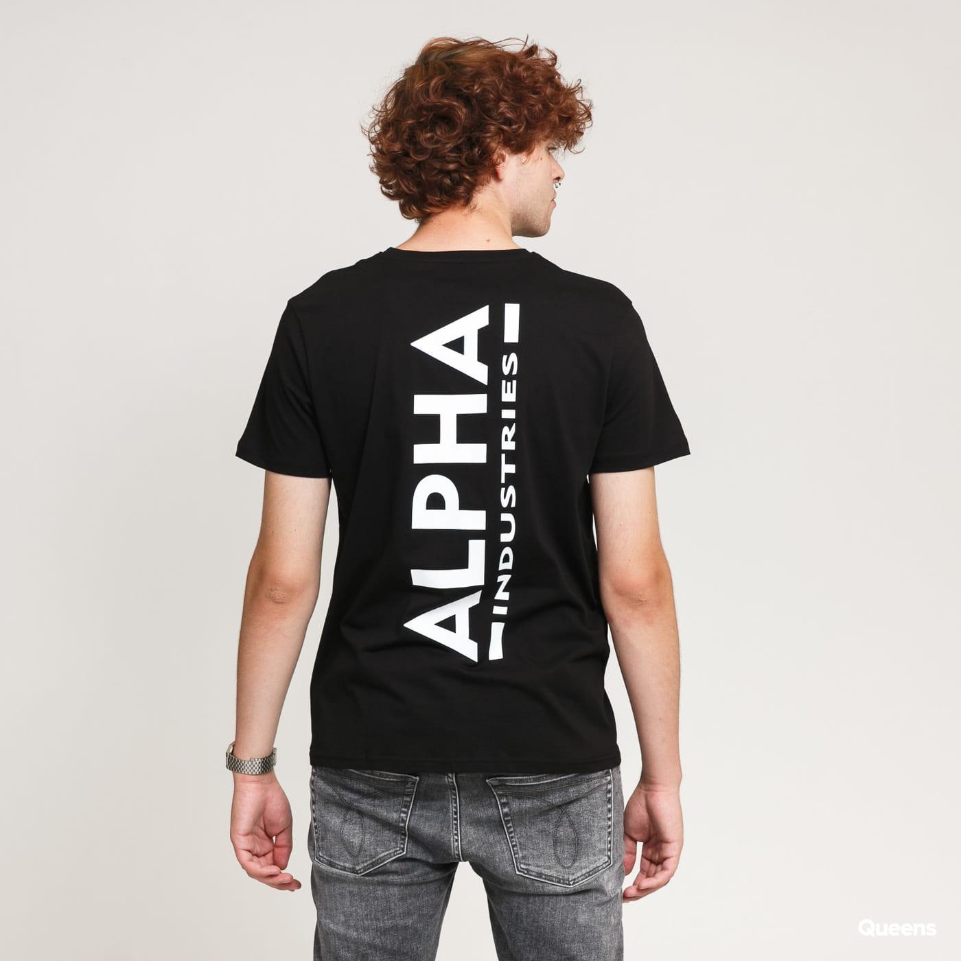 Alpha Industries Backprint Tee black