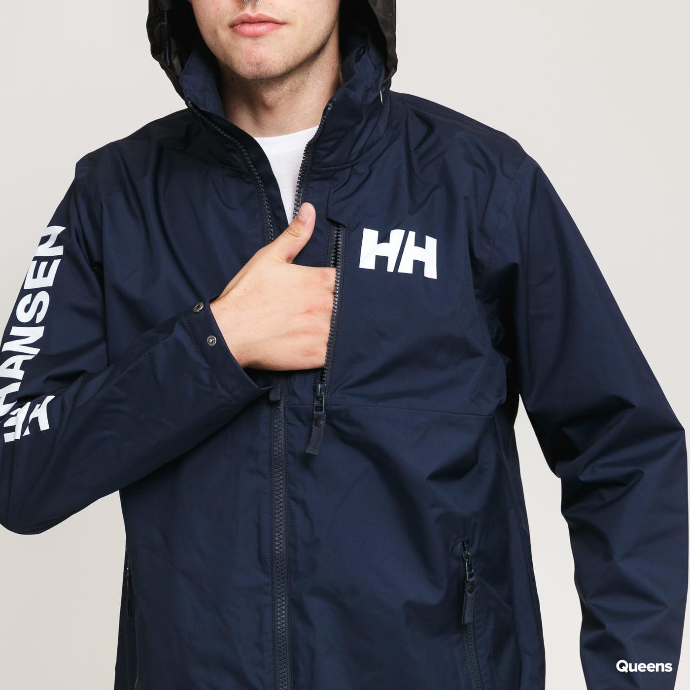 Helly Hansen Active Hooded Midlayer Jacket nava