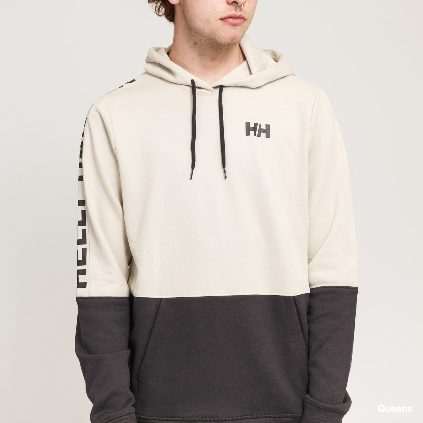 Helly Hansen Active Hoodie light beige / dark grey