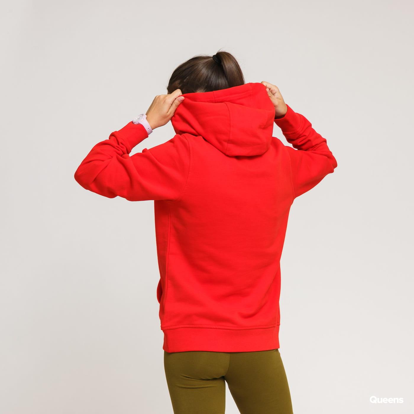 Helly Hansen W HH Logo Hoodie red