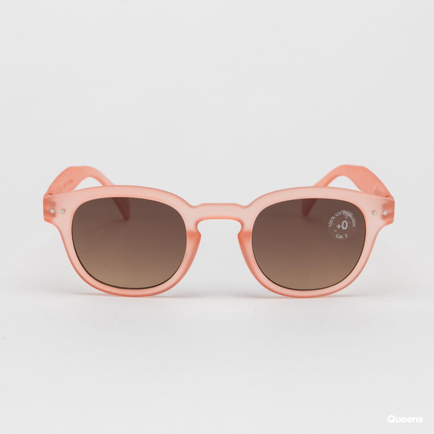 IZIPIZI Sunglasses #C světle růžové / černé