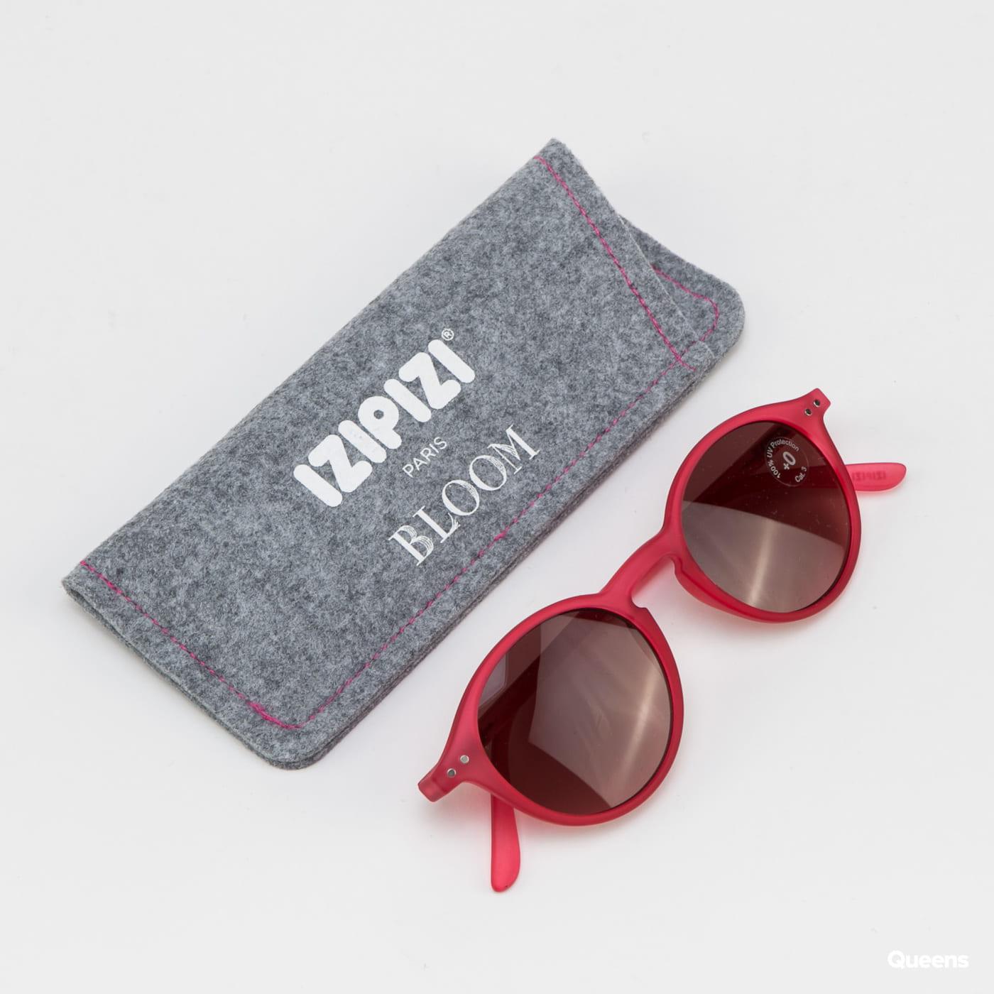 IZIPIZI Sunglasses #D dark pink / black