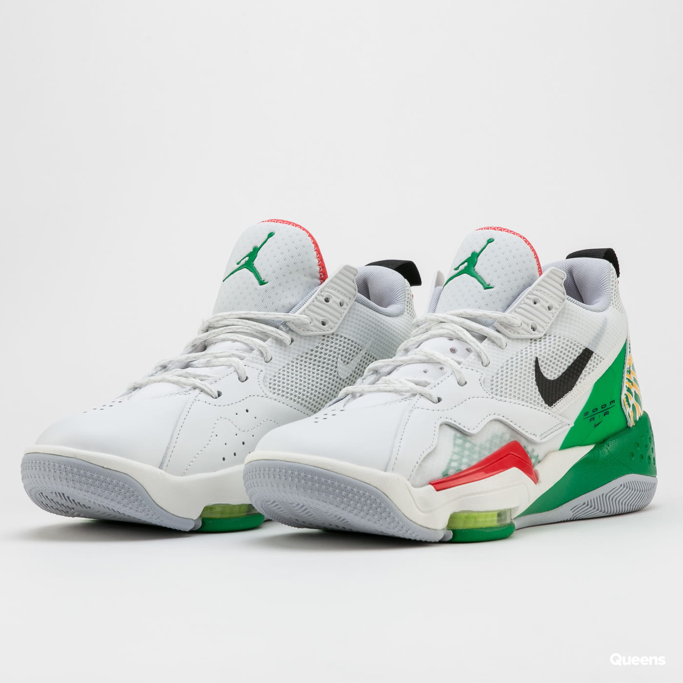 Jordan Zoom '92 summit white / black - lucky green