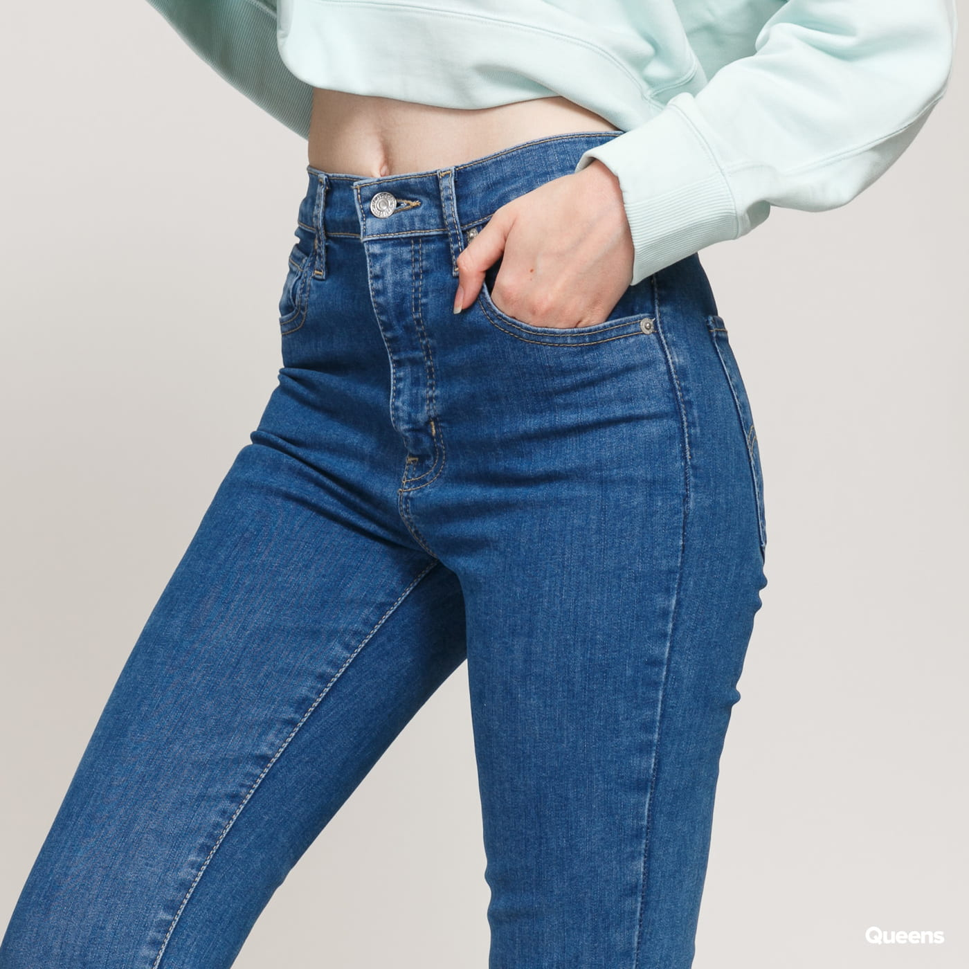 Levi's ® Mile High Super Skinny galaxy stoned