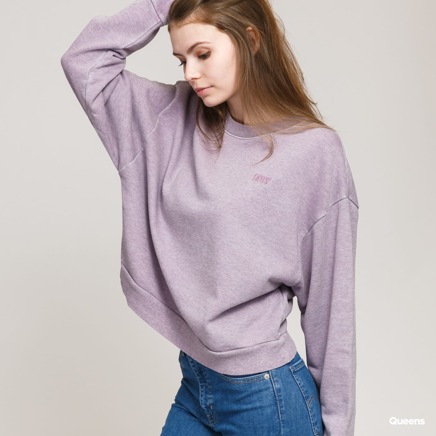 Levi's ® W Diana Crew melange light purple