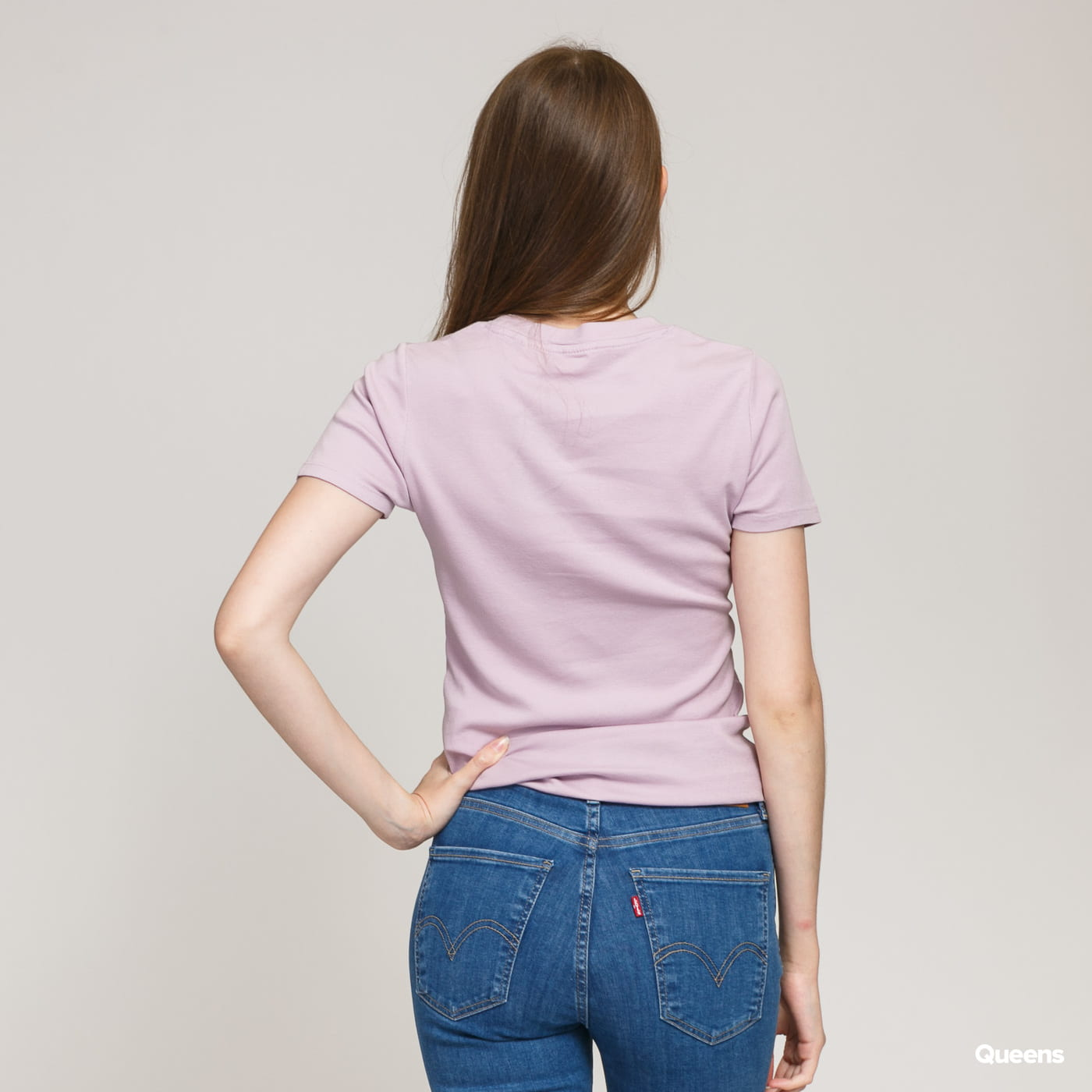 Levi's ® W SS Ribber Baby Tee soft lavender