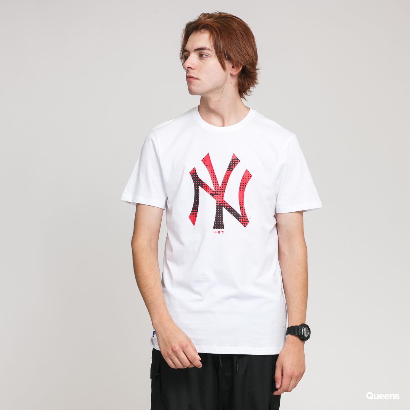 New Era MLB Infill Team Logo Tee NY bílé / červené / černé