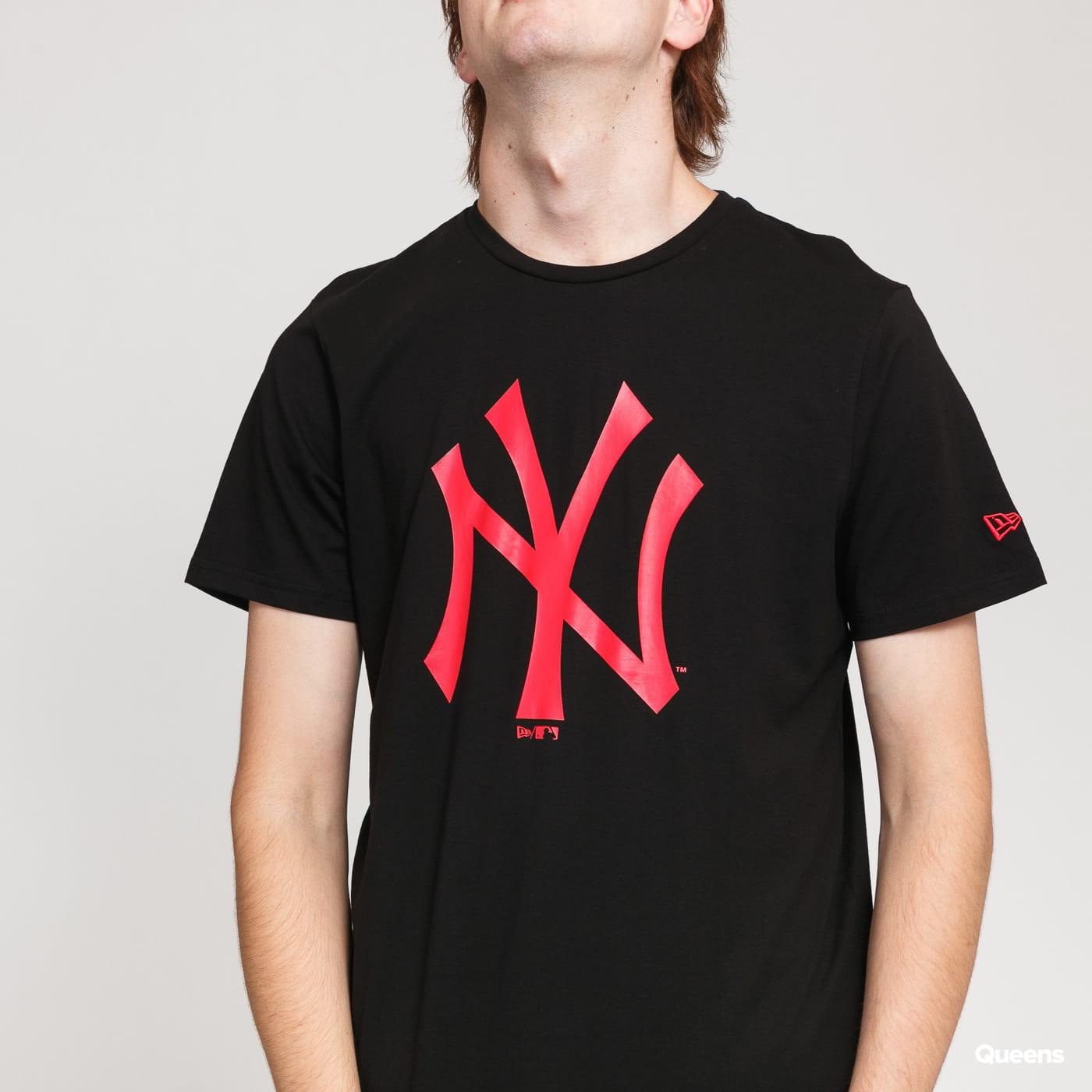 New Era MLB Seasonal Team Logo Tee NY black