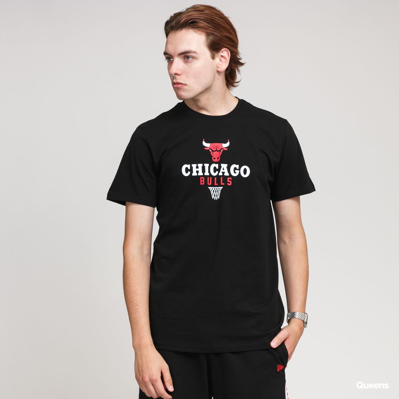 New Era NBA Bold Graphic Tee Chicago Bulls black