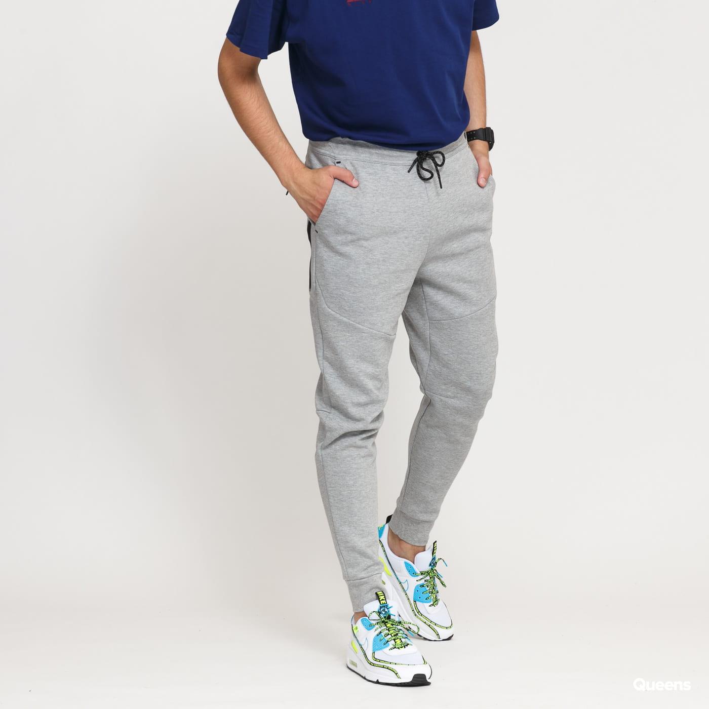 Nike M NSW Tech Fleece Jogger melagne šedé