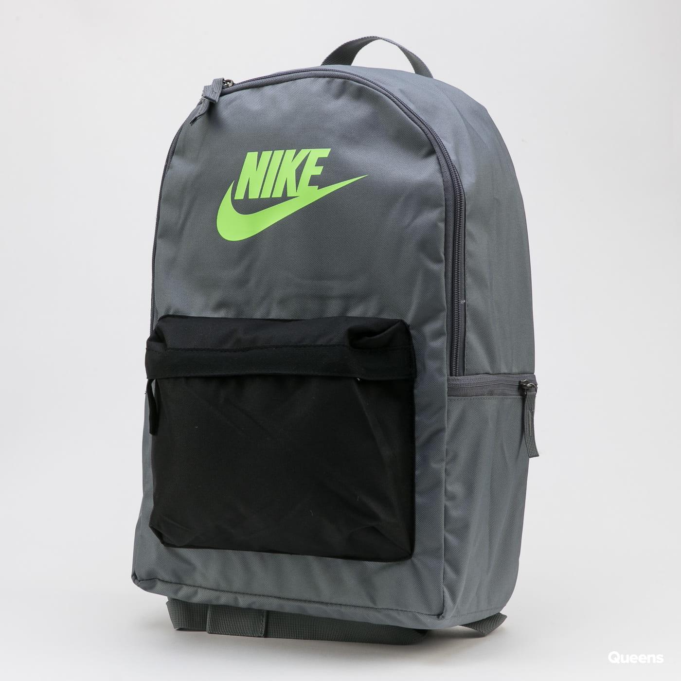 Nike NK Heritage Backpack 2.0 dark gray / black