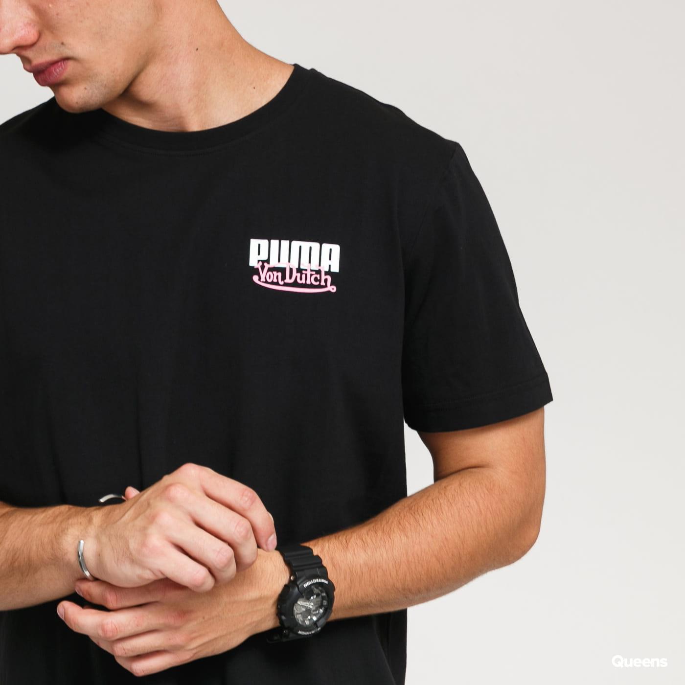 Puma Puma x Von Dutch Tee černé