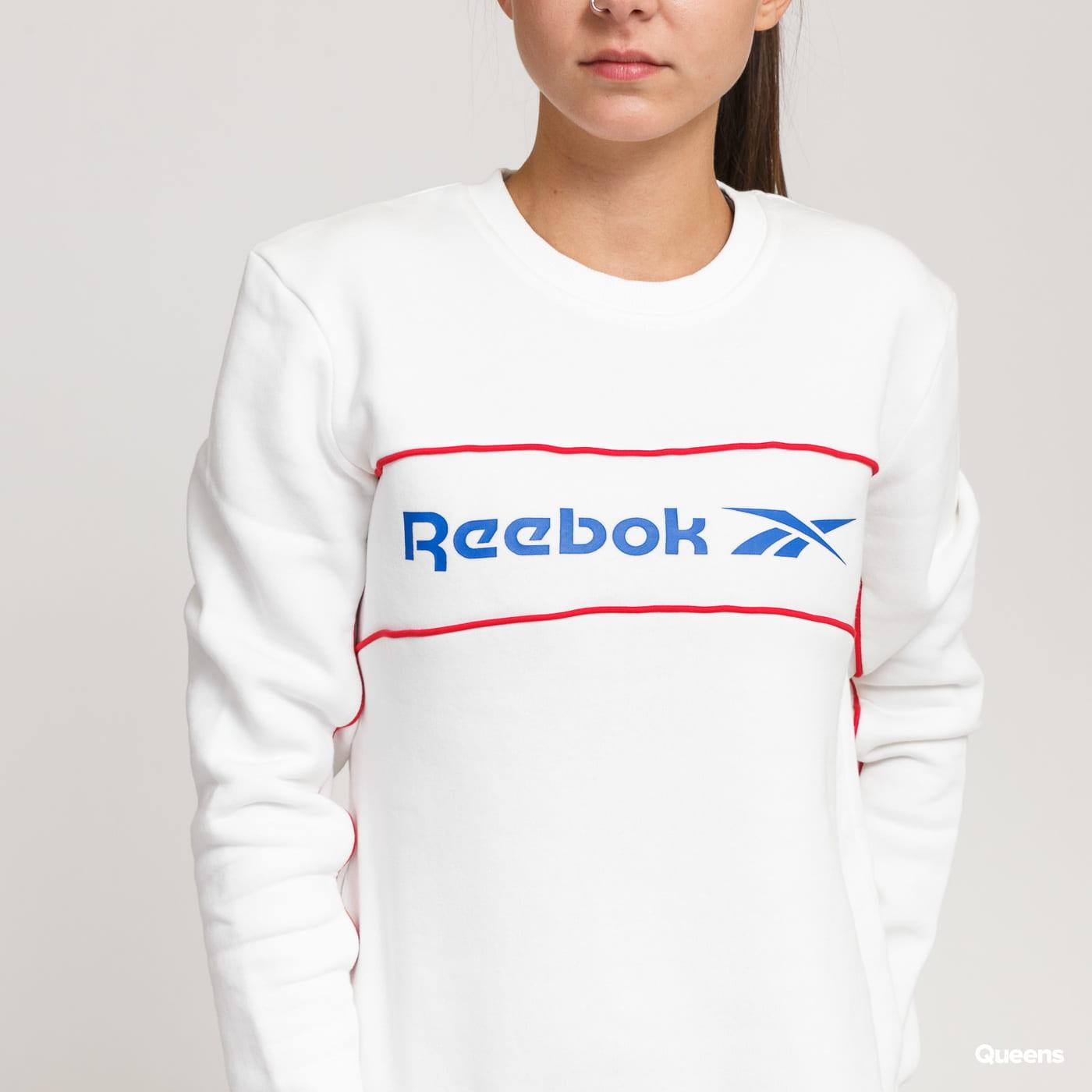 Reebok Classic F Linear Crew bílá