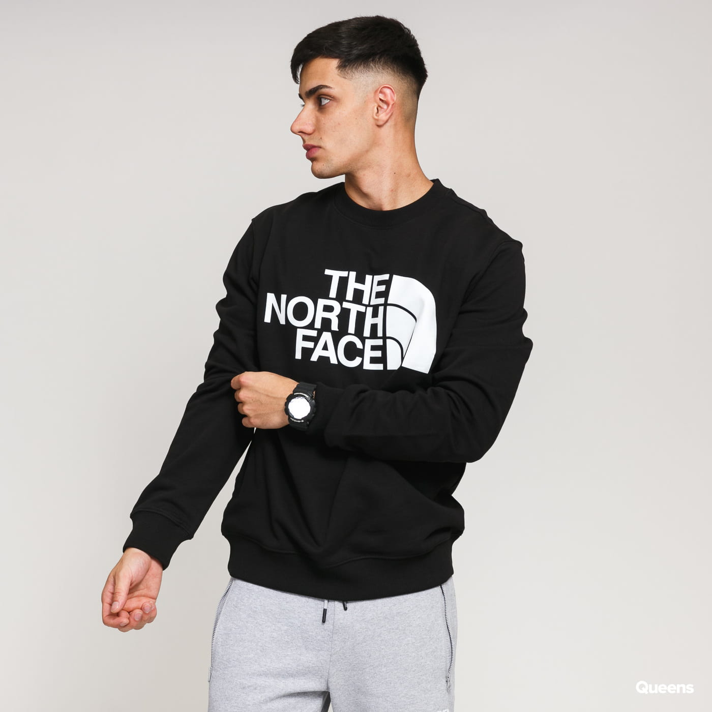 The North Face M Standard Crew černá