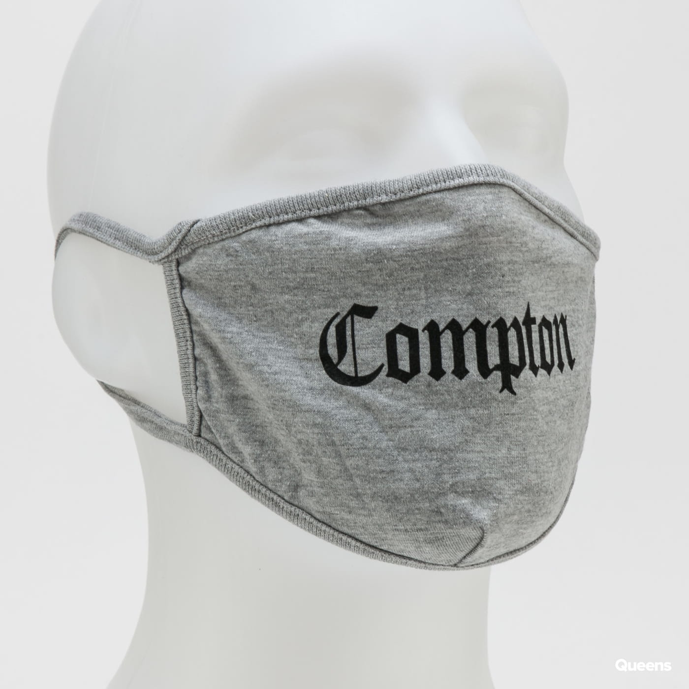 Urban Classics Compton Face Mask melange gray