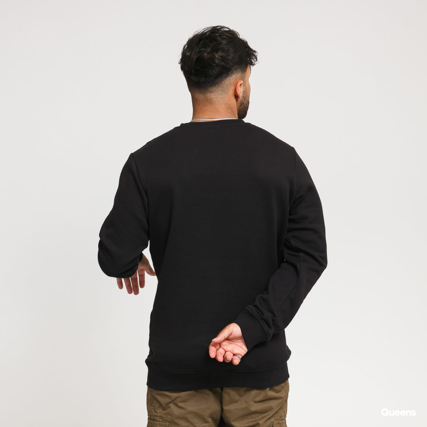 Urban Classics Organic Basic Crew black