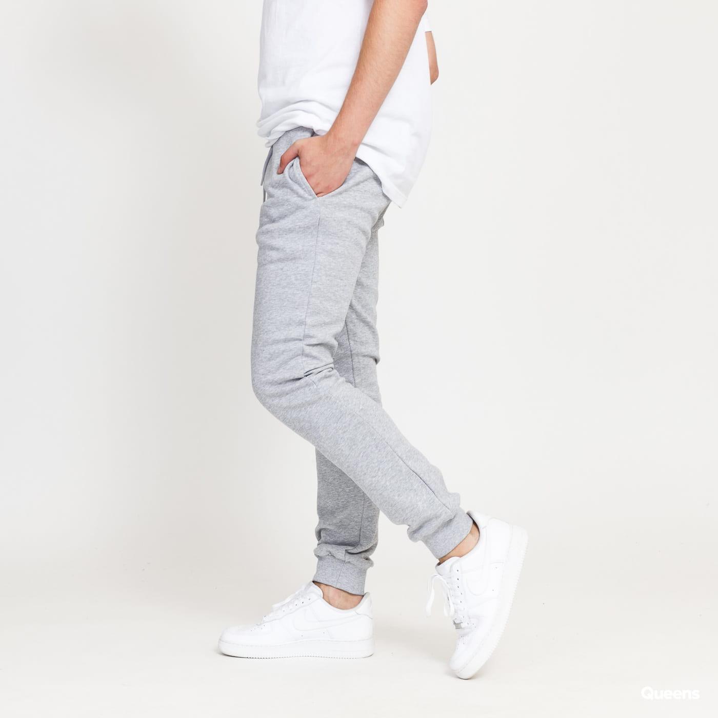 Urban Classics Organic Basic Sweatpants melange gray