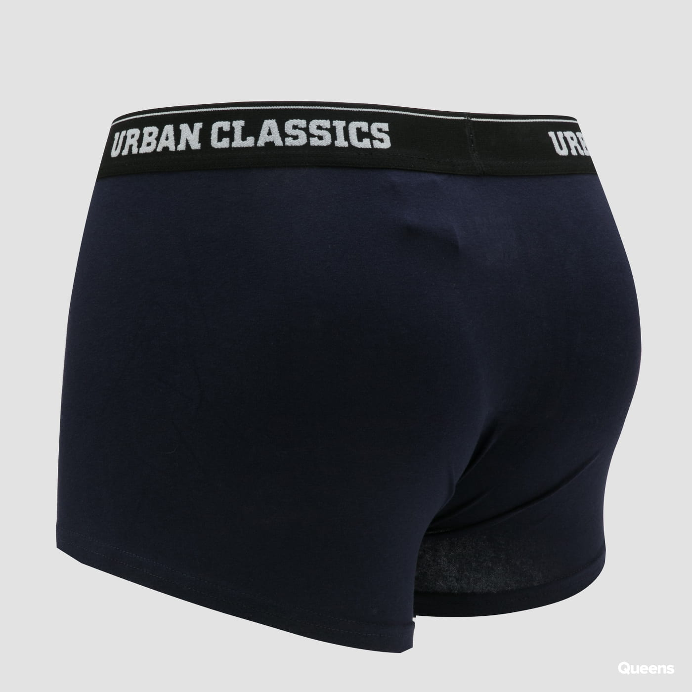 Urban Classics Organic Boxer Shorts 3-Pack white / black / navy