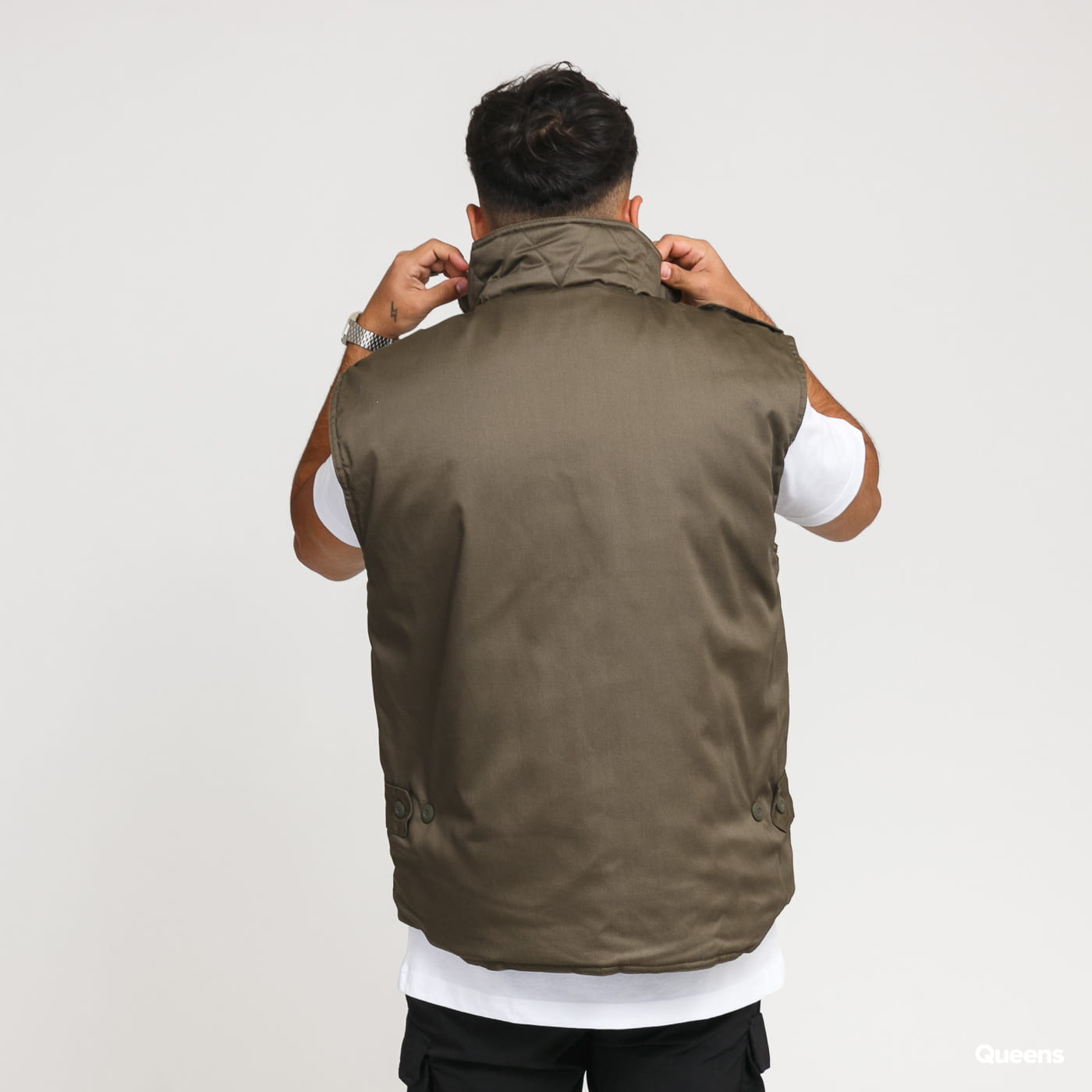 Urban Classics Ranger Vest olivová