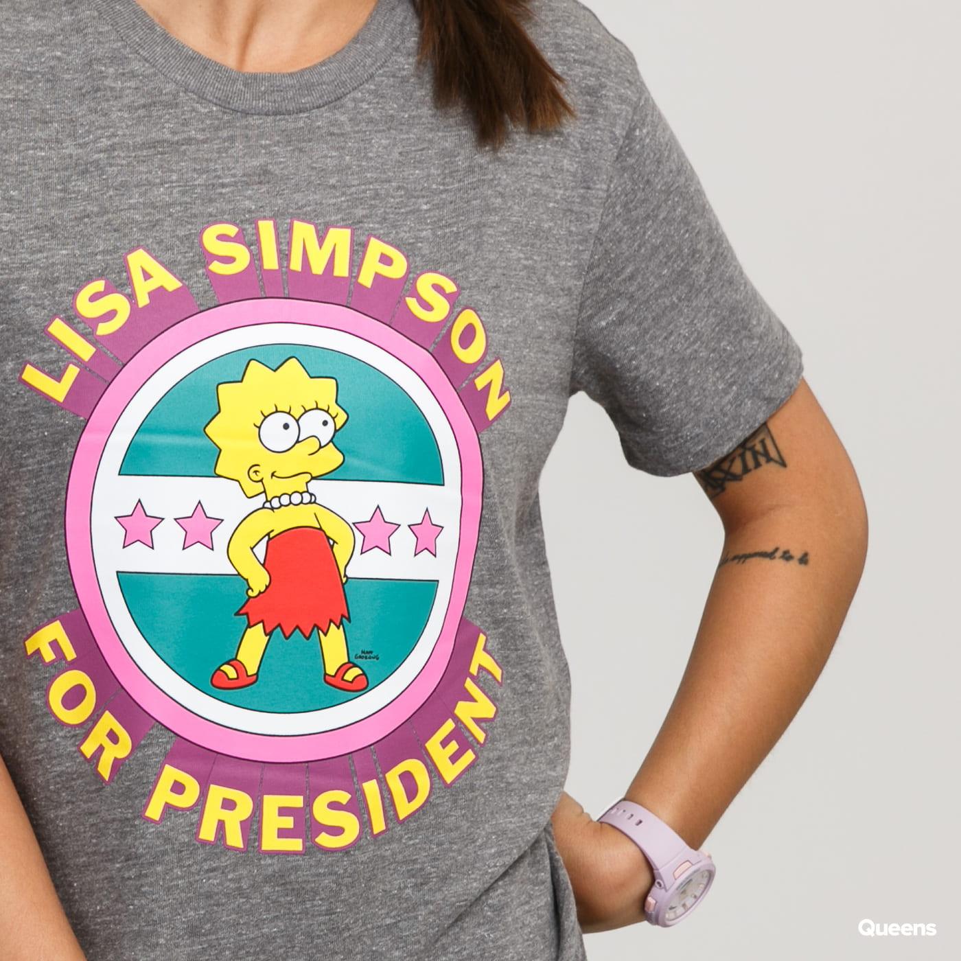 Vans WM The Simpsons Lisa Tee melange gray