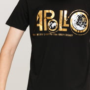 Alpha Industries Apollo 50 PM Tee černé / zlaté