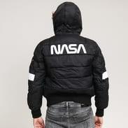 Alpha Industries Hooded Puffer FD NASA černá