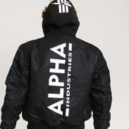 Alpha Industries MA - 1 ZH Back Print černá