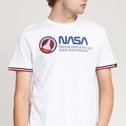 Alpha Industries NASA Retro Tee bílé