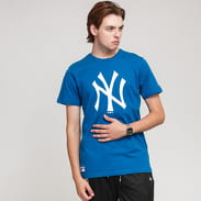 New Era MLB Seasonal Team Logo Tee NY modré