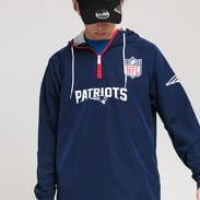 New Era NFL 1/4 Zip Windbreaker Patriots navy