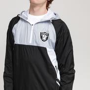 New Era NFL Ripstop Windbreaker Raiders černá / šedá