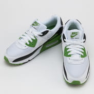 Nike Air Max 90 white / white - chlorophyll - black