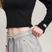 Nike W NSW Top LS Rib Femme černé