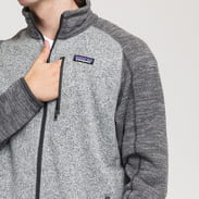 Patagonia M's Better Sweater Jacket melange šedá / melange tmavě šedá