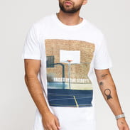 Urban Classics Raised By The Streets Tee blue / turquoise