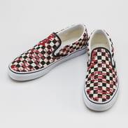 Vans Classic Slip-on (vans crew) checkrbrd / red