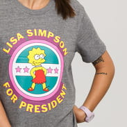Vans WM The Simpsons Lisa Tee melange šedé