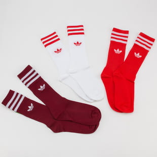 adidas Originals 3Pack Solid Crew Socks