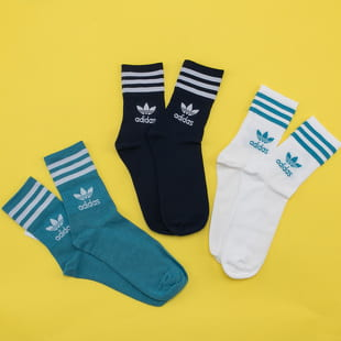 adidas Originals Mid Cut Crew Socks 3Pack