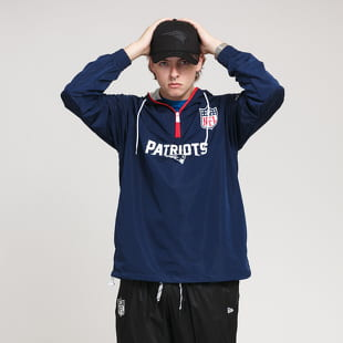 New Era NFL 1/4 Zip Windbreaker Patriots