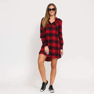 Urban Classics Ladies Check Shirt Dress
