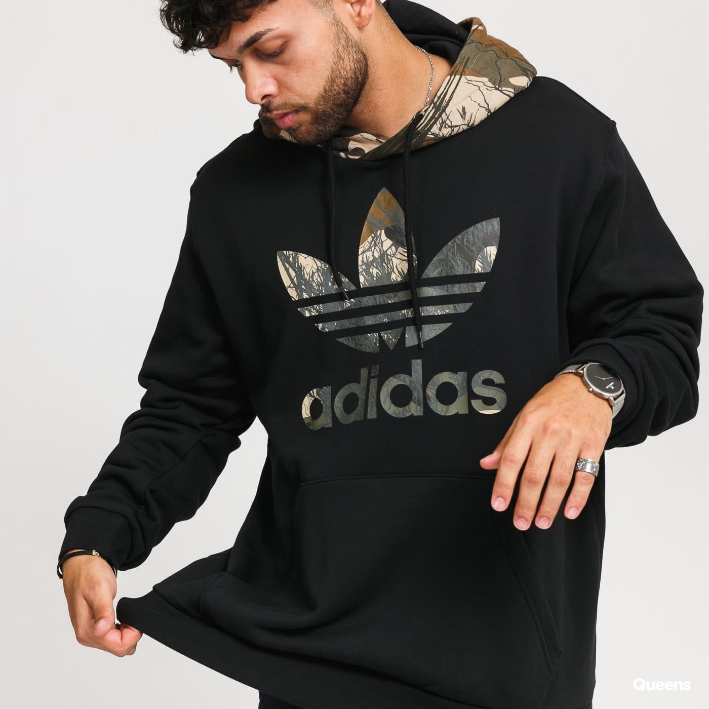adidas Originals Camo Block Hoody black