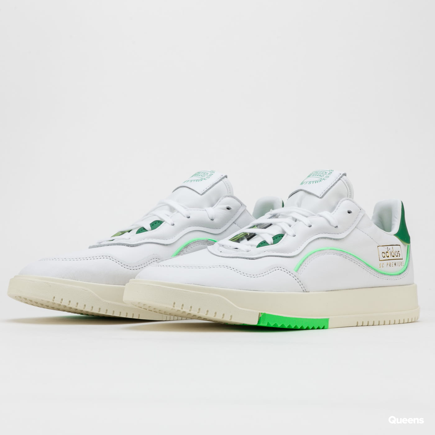 adidas Originals SC Premiere ftwwht / green / sholim