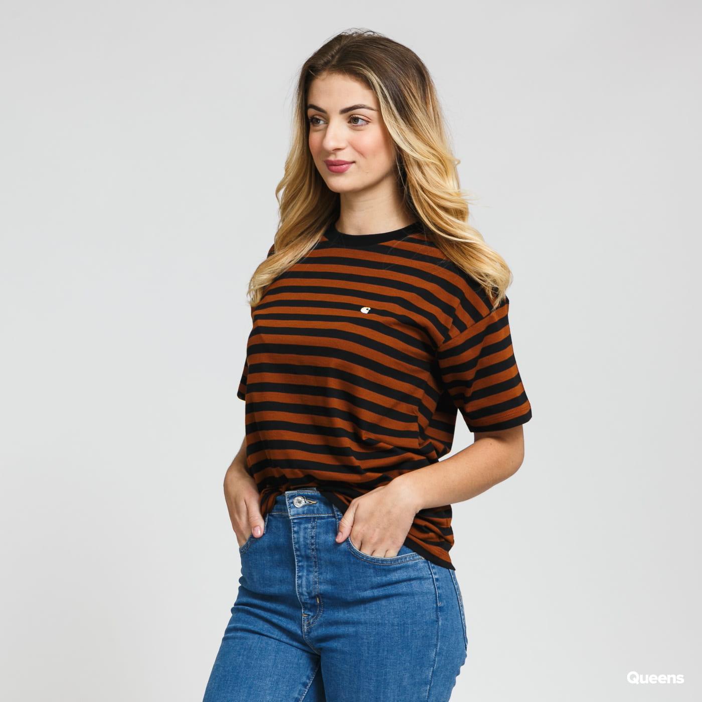 Carhartt WIP W Parker Tee black / brown
